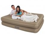 Intex: Надувная кровать Intex Rising Comfort