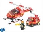 Конструктор пожарные спасатели ТМ Sluban